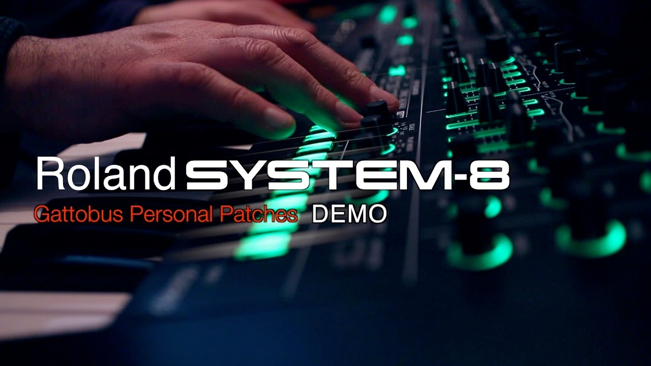 Roland System-8 - Gattobus Personal Patches - DEMO -
