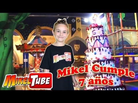 Mikel cumple 7 años