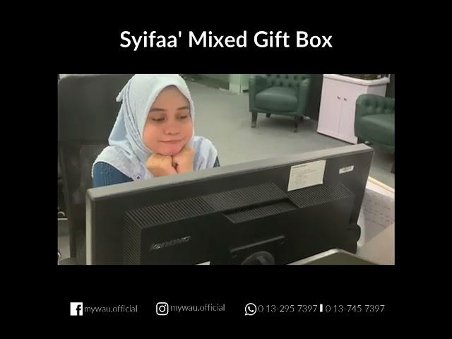Rindu dekat yang Tersayang? Hantarkan SENDING LOVE dengan Syifaa' Mixed Gift Box Exclusive