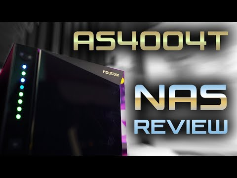 ASUS Goes NAS..!? ASUSTOR AS4004T 10Gbps $360 NAS Review(!)