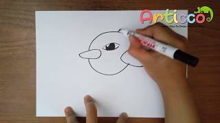 How to Draw Natu Step by Step for Kids