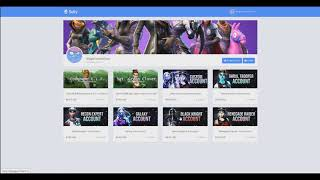 BUYING renege raider | LEGIT FORTNITE ACCOUNTS ?? | SHOPPY. GG/SELLY. GG/ATSHOP. IO