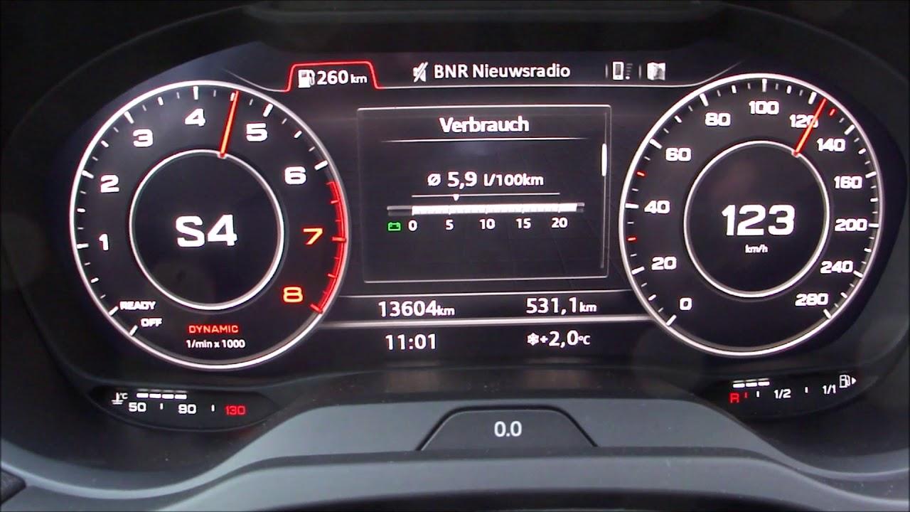 Audi A3 15 Tfsi Cod Sportback Acceleration Youtube
