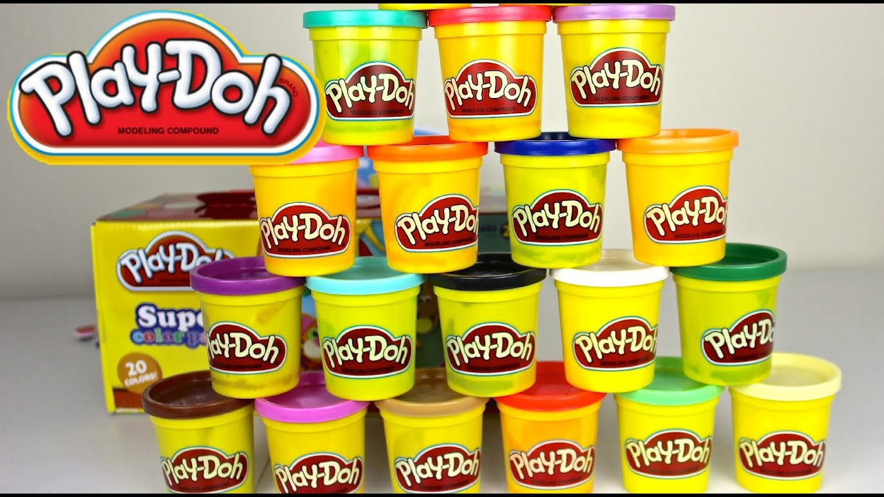 Plastilina Play Doh En Espa 241 Ol Super Color Pack Play Doh