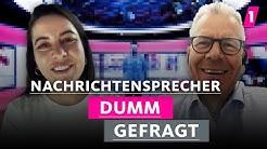 Moderieren Nachrichtensprecher in Jogginghose? | 1LIVE Dumm Gefragt-Spezial