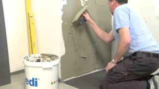 wedi | EN - Training: Bathroom expansion with water-tight building board (plasterboard alternative)