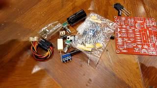 Регулируемый блок питания DIY Kit сборка и пайка для новичка своими руками