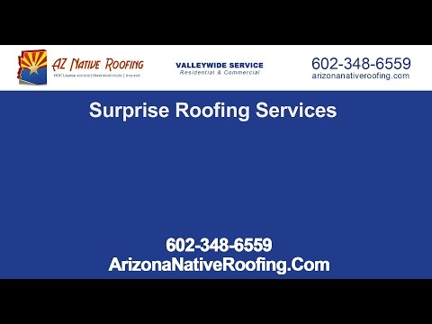 Surprise Roofing Services