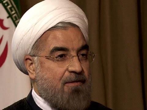 Rouhani to Charlie Rose:  I condemn the massacre carried out by the Nazis