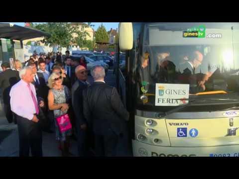 Arranca con novedades el servicio especial de autobuses entre Gines y la Feria de Abril