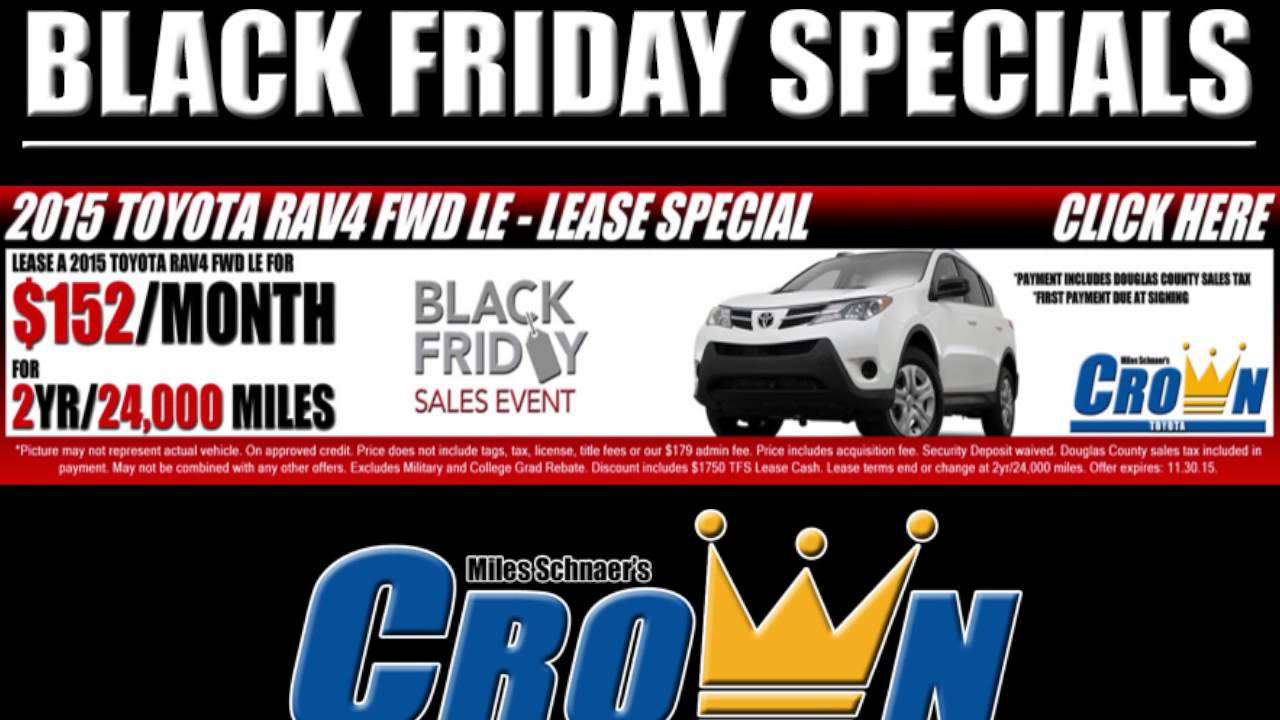 Crown Toyota Lawrence >> Crown Toyota Of Lawrence Ks Black Friday Specials