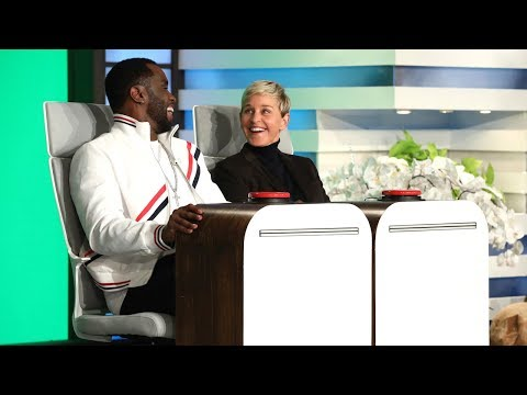 Ellen and Sean 'Love' Combs Answer Burning Questions