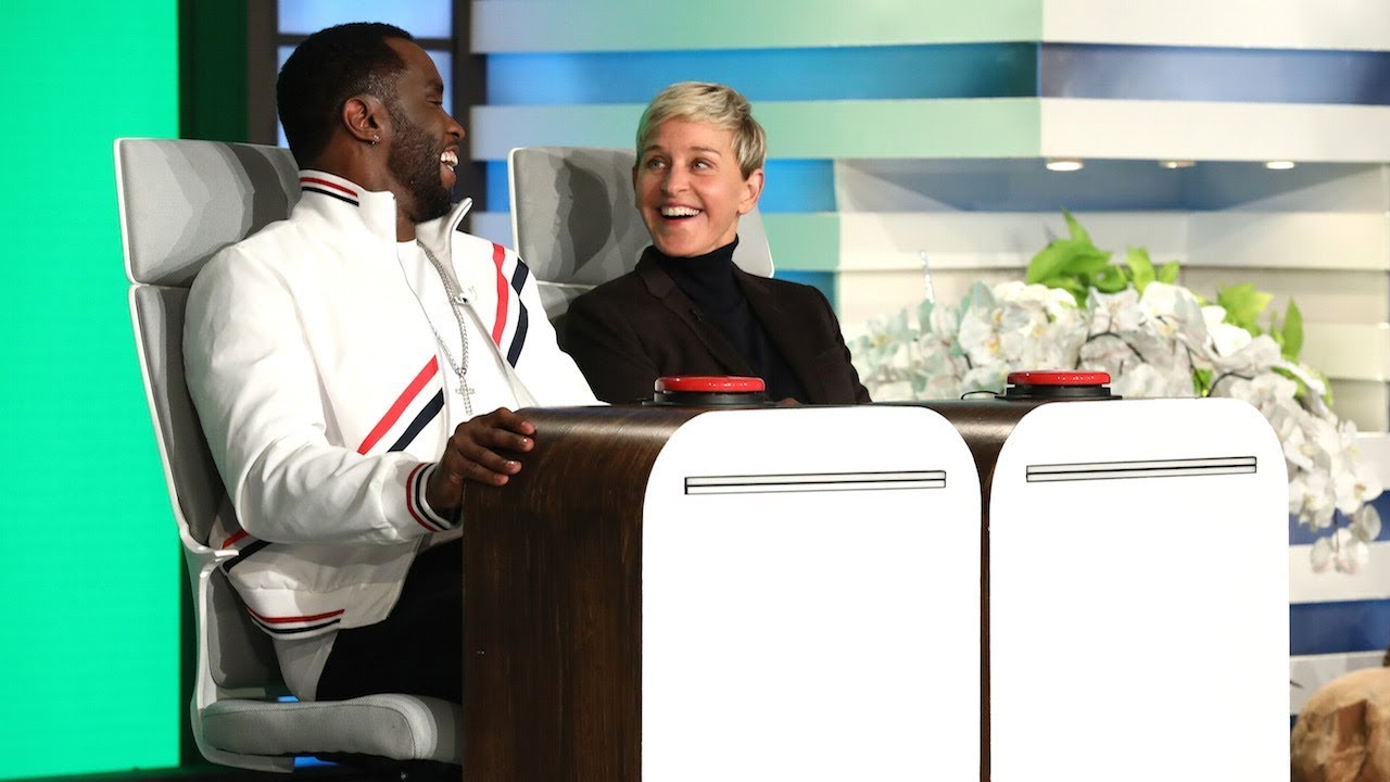 Ellen and Sean 'Love' Combs Answer Burning Questions - YouTube