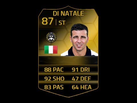 FIFA 14 SIF DI NATALE 87 Player Review  In Game Stats Ultimate Team  YouTube