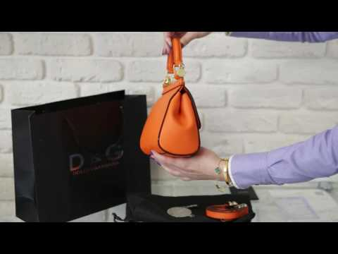 4eb53d5b109d d&g orange small bag - YouTube
