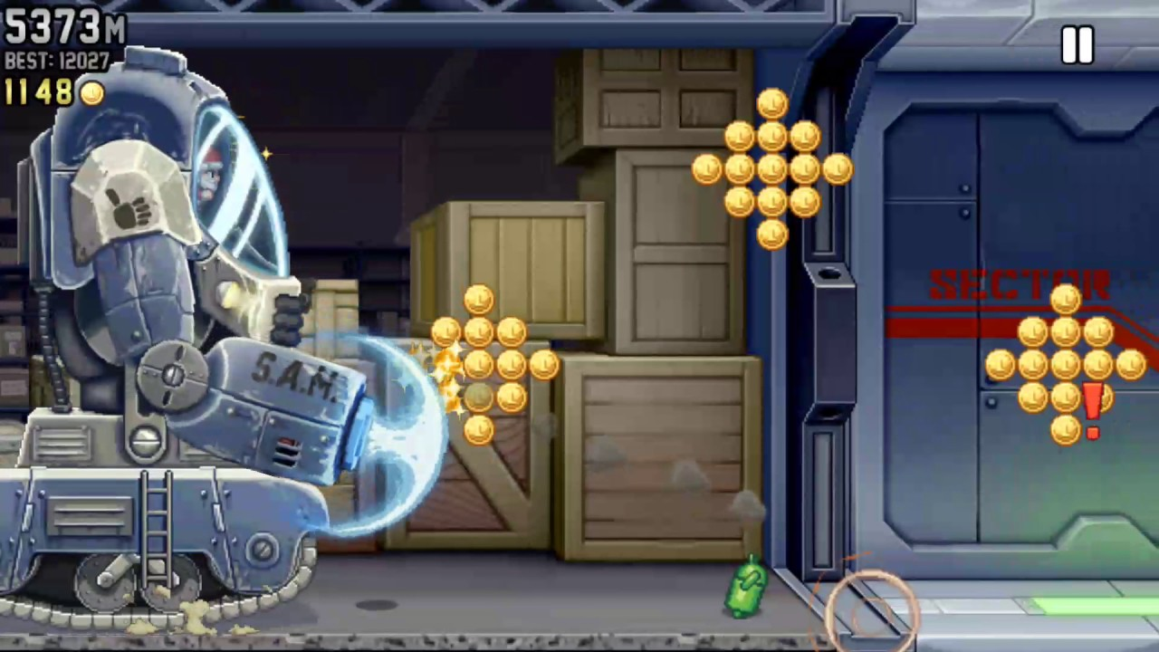 Jetpack joyride Christmas special - YouTube