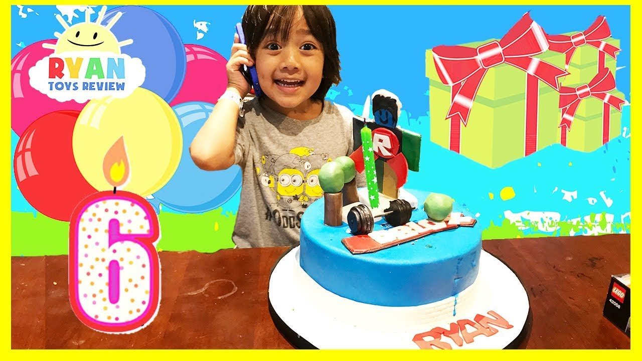 Ryans 6th Birthday Party YouTube