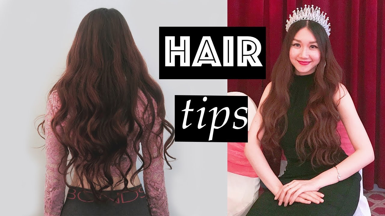 Phục hồi tóc hư – mẹo dưỡng tóc dài nhanh | Repair damaged hair and grow it faster