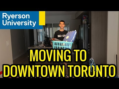 COLLEGE MOVE IN DAY 2018 | RYERSON UNIVERSITY