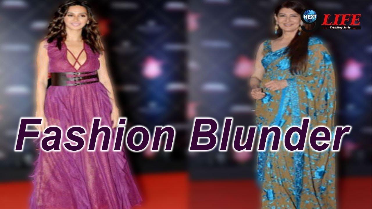 Fashion Mistakes of Bollywood Diva's | Bollywood fashion blunders