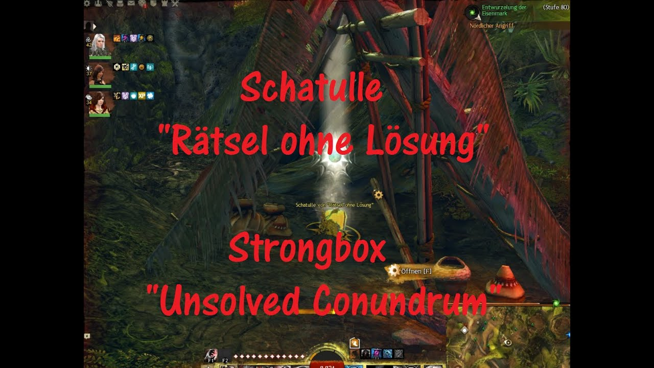 Guild Wars 2 HoT Schatulle Rätsel ohne Lösung / Strongbox Unsolved Conundrum