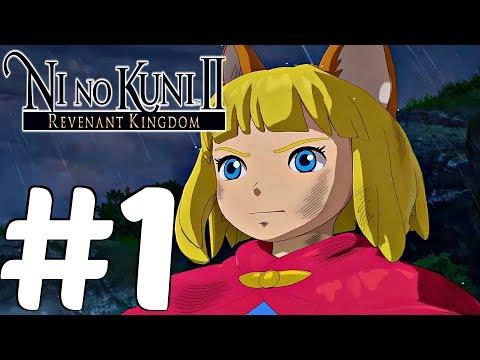 NI NO KUNI 2 Revenant Kingdom - Gameplay Walkthrough Part 1 - King's Cradle & Longfang [1080P 60FPS]