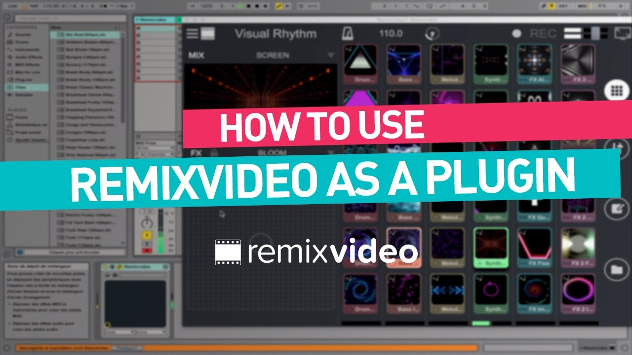 Remixvideo tutorial | video plugin for Ableton Live