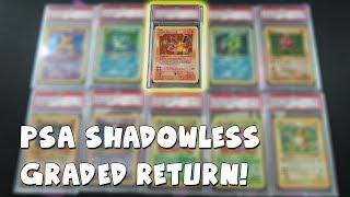 PSA ? SHADOWLESS CHARIZARD?! Shadowless Base Set Lot | PSA GRADED POKEMON CARD RETURNS #3