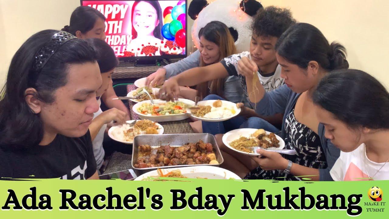 Ada Rachel's Birthday Mukbang | Ma2ke It Mukbang |  Ma2ke It Yummy