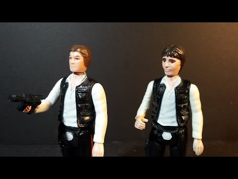 HCC788 - Star Wars HAN SOLO Kenner - vintage toy review! HD