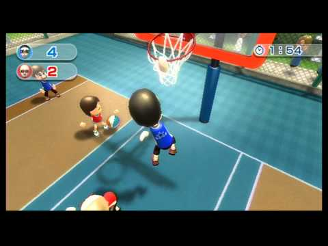 Wii Sports Resort - Basketball