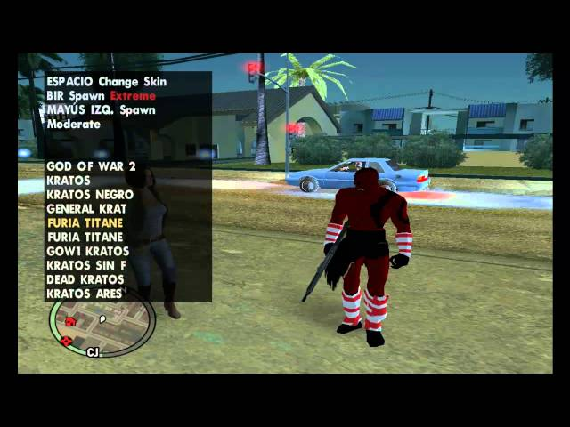 kratos para gta sa idetico al del god of war de ps2 50 suscriptores + armas, leer descripcion Videos De Viajes