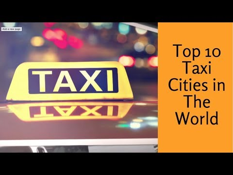 Top 10 taxi cities in the world