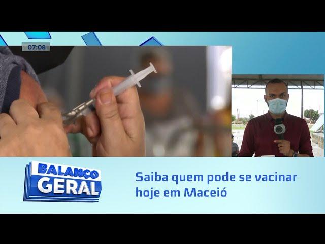 Covid-19: Maceió vacina apenas segunda dose de AstraZeneca e primeira dose de gestantes e puérperas