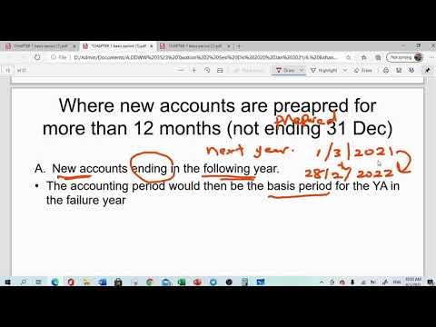 Malaysian Taxation Basis Period Chapter 1