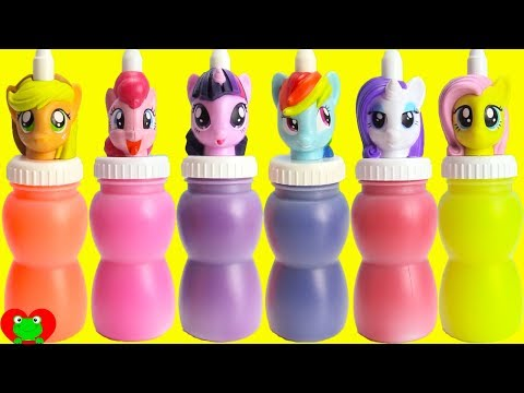 My Little Pony Slime Surprises MLP Twilight, Pinkie Pie, Rainbow Dash