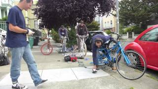 Operation Freedom Grinder: Recovering a Stolen Bike with Pedal Power