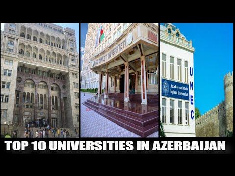 TOP 10 UNIVERSITIES IN AZERBAIJAN🇦🇿
