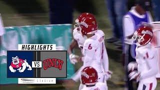 No. 23 Fresno State vs. UNLV Football Highlights (2018) | Stadium