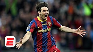 Espn fc's craig burley and alejandro moreno reflect on barcelona's famous 3-1 win vs. manchester united at wembley stadium in 2011. says this barca si...