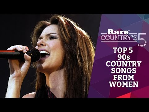 Top 5 90s Country Songs from Women | Rare Country's 5 from YouTube · Duration:  2 minutes 31 seconds