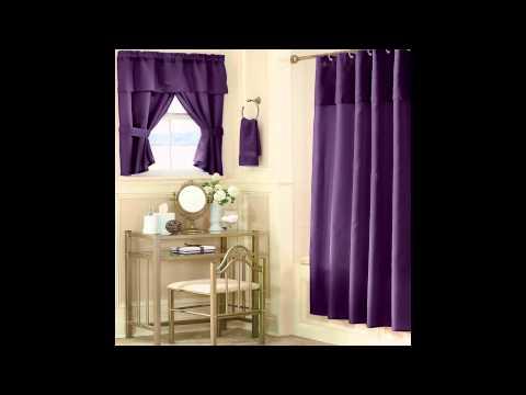 The Cool Bathroom Window Curtains