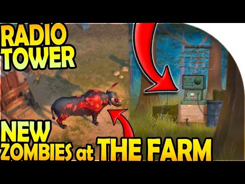 RADIO TOWER + NEW ZOMBIES at THE FARM - Last Day On Earth Survival Update 1.9