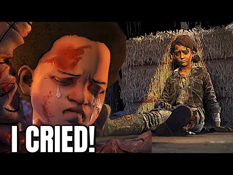 """Clementine and Aj's Final Moments Reaction - The Walking Dead:Season 4 Episode 4 """"Take us Back"""""""