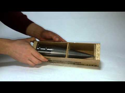 Розпаковка конусного дровокола - Крутодров