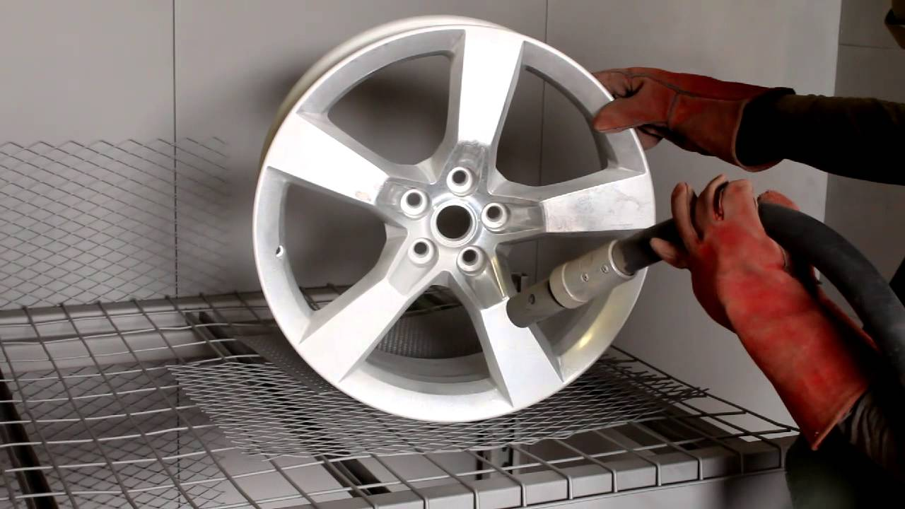 Can You Powder Coat Aluminum >> Camaro Wheels Powder Coating Process