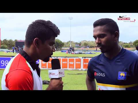 I have all variations for a fast bowler - Vishwa Fernando