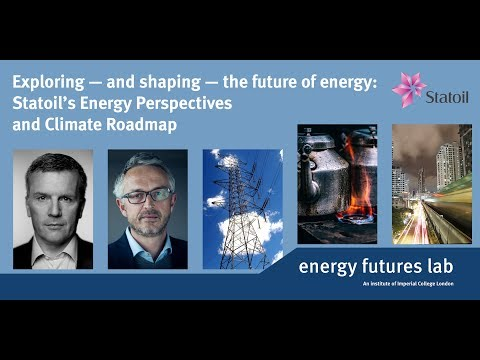 Exploring — and shaping — the future of energy: Statoil's Energy Perspectives and Climate Roadmap