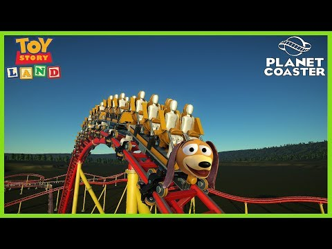 Slinky Dog Dash - Disney's Hollywood Studios - Planet Coaster