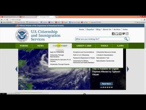 #24 США Инструкция по заполнению формы N-400 Документы на американское гражданство